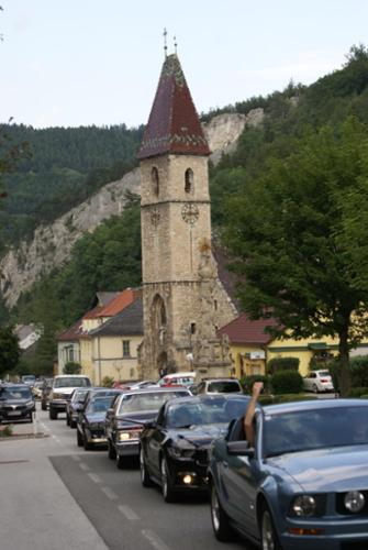 Mustang, Us Cars, Schottwien to Spital am Semmering